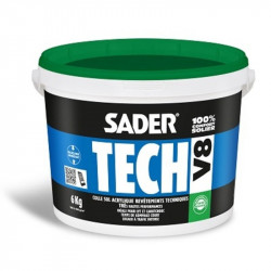 SADER TECH V8 6KG (colle LVT)